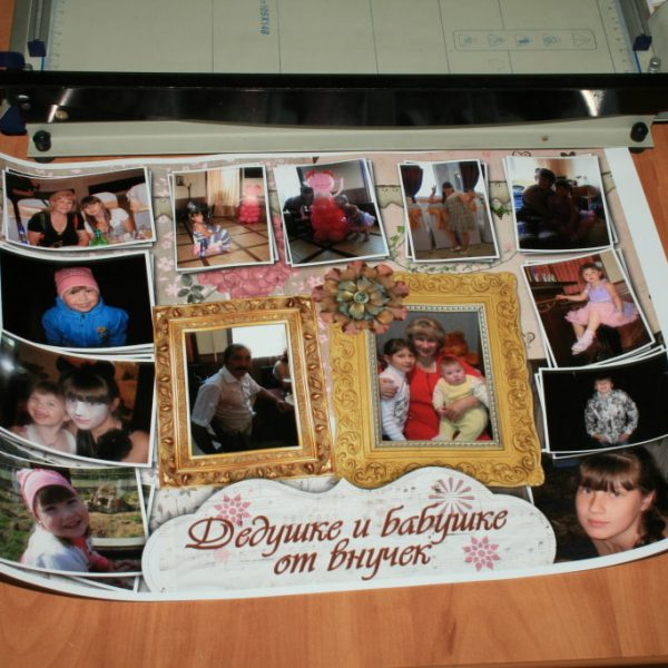 Плакат с вашим фото на заказ